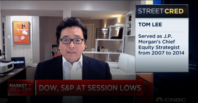 Why Fundstrat's Tom Lee isn't wavering on his bullish market calls